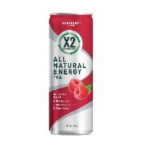 X2 Performance All Natural Energy Tea (Raspberry)