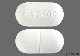 Eudal SR 400mg-120mg Extended-Release Tablet