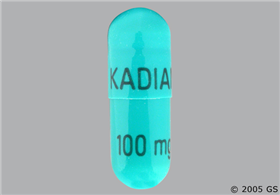 Kadian 100mg Extended-Release Capsule