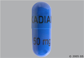 Kadian 50mg Extended-Release Capsule