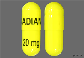 Kadian 20mg Extended-Release Capsule