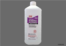 CVS 70% Isopropyl Rubbing Alcohol - Aegis Shield