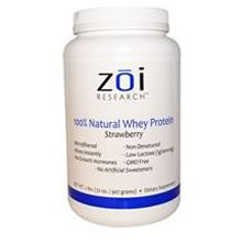 100% Natural Whey Protein (Strawberry)